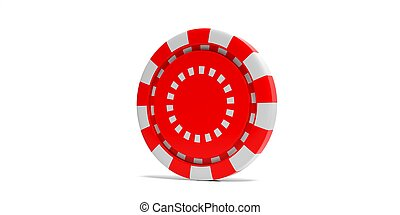 Red Color Poker Chip Isolated On Black Background 3d Illustration Gambling Casino Concept Red White Color Poker Chip Canstock