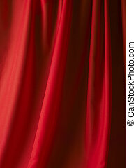 red color satin
