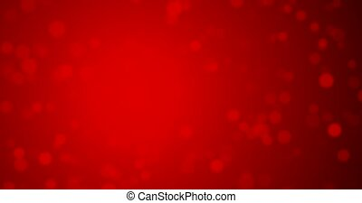 Red confetti. Happy Valentines day seamless loop background..