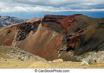 Red Crater, Tongariro National Park, New Zealand