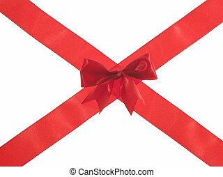 Red cross ribbon