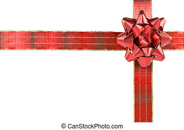 red cross ribbon with bow