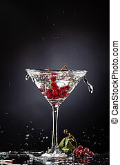 Red Currant In The Glass