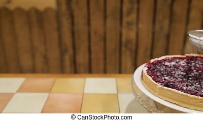 Red Currant Tart loopable cake