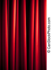 red curtain pattern - red theater curtain with irregular...