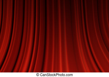Movie curtains - Red Curtains background. Movie curtains ...