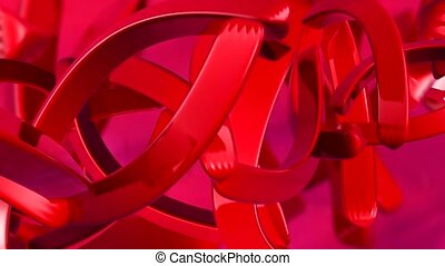 Red curves in motion