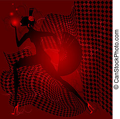 red dance