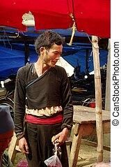 Red Dao ethnic man