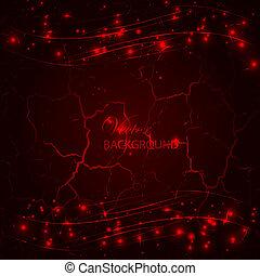 Red dark grunge background