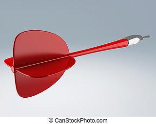 red dart 3d