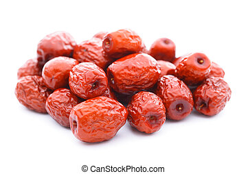 red date on white