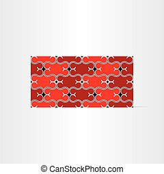 red decorative seamless background