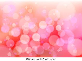 Red defocus lights - Defocused creative abstract red lights....