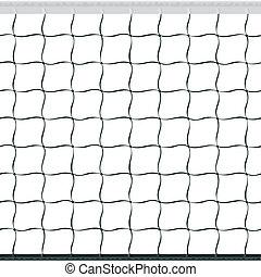 red del voleibol, seamless