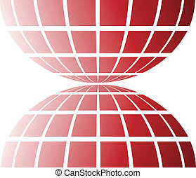 red design element