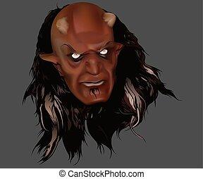 Red Devil Head