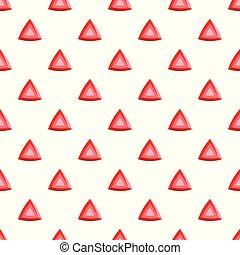 Red diamond pattern seamless vector