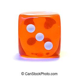Red dice, number three
