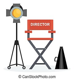 red director chair