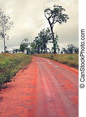 dirt road in Australia
