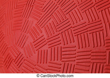 Red Dodge Ball Pattern