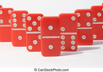 Red Dominoes
