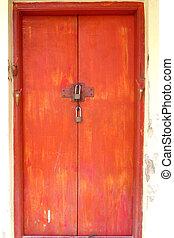 Red door is locked