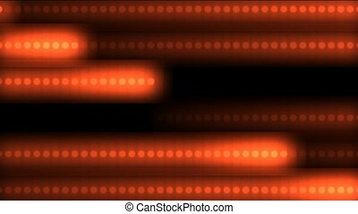 red dots shaped stripe light