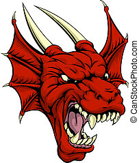 Red dragon character
