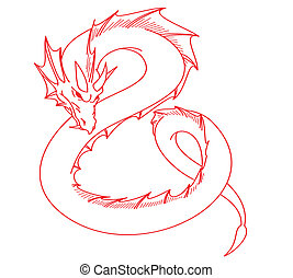 red dragon tattoo