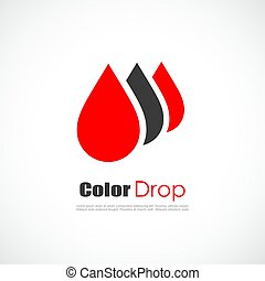 Red drop logo