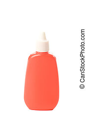 Red Dropper Bottle