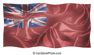Red Duster Royal Navy Flag Waving - The Union Jack naval ...