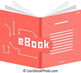red ebook icon