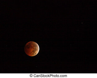 Red Eclipse Moon