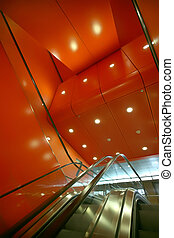 red elevator