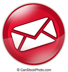 Red email button