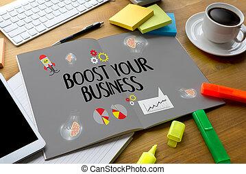 red, empresa / negocio, ingresos, internet, su, empresa / negocio, alza, tecnología