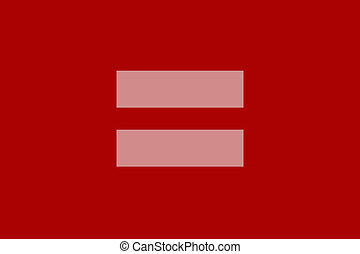red equal sign - equal sign a symbol of marriage equality...