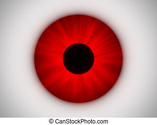 Red Eye - this image generated with computer