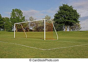 red, fútbol, vacío