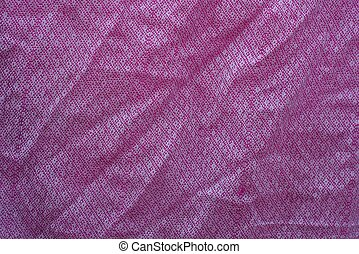 fabric texture from a crumpled piece of cloth