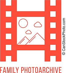 red family photoarchiv icon