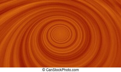 red fiery cloud vortex