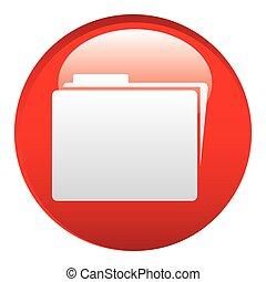 red file emblem icon, vector illustraction design image