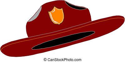 Red Fire Fighter Fireman Helmet Hat
