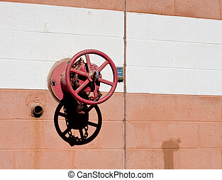 Red Fire Valve