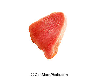 Red fish isolated on white