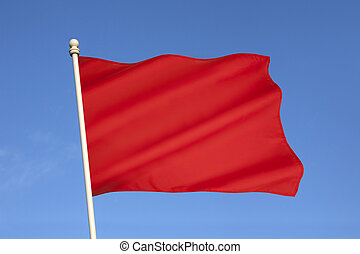 Red Flag of Danger